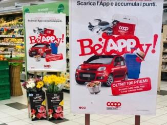 Innovativa raccolta punti firmata Coop Centro Italia Be Appy