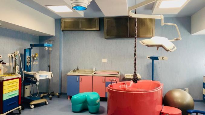 Nuovo blocco parto inaugurato all'ospedale di Città di Castello
