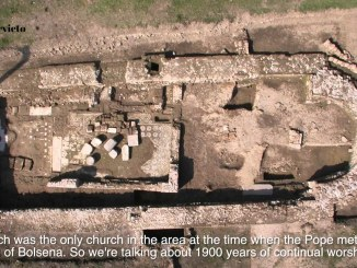 Il santuario federale degli Etruschi sorgeva ai piedi del colle di Orvieto