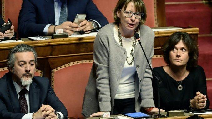 Fiammetta Modena,testo positivo per coalizione di centrodestra