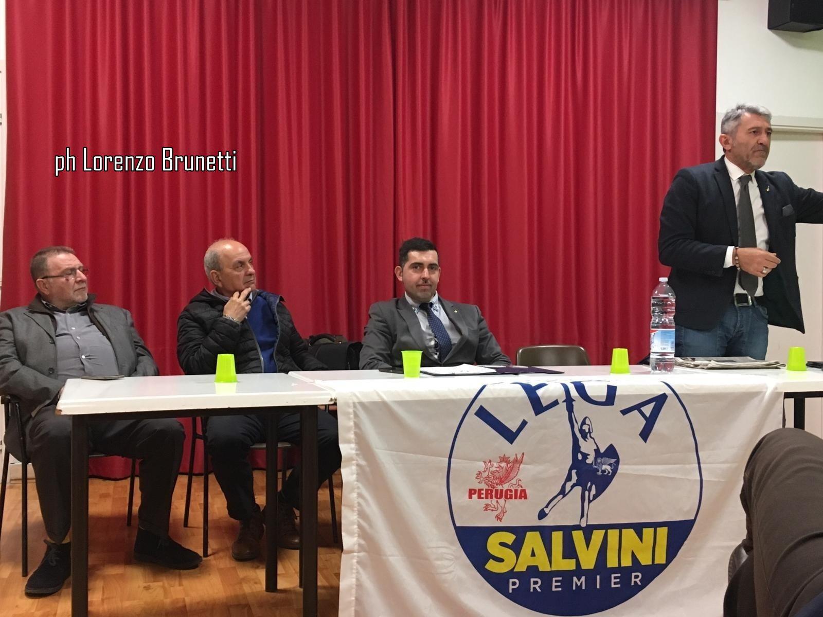 Giovanni Ferrara, Lega, impegno per il quartiere di Ponte D'Oddi a Perugia ➡ Foto ⬅