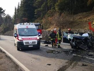 Usl Umbria 1, come in Italia, in calo gli incidenti stradali mortali