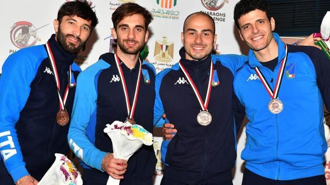 Il ternano Alessio Foconi ancora sul podio in coppa del mondo con l'Ital-fioretto