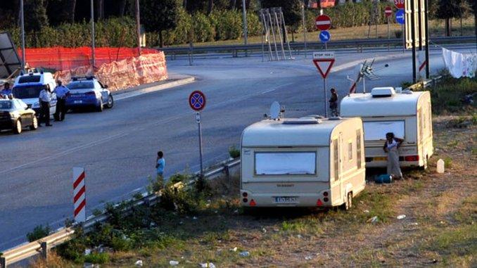 Ladre nomadi in trasferta da Roma per rubare a Orvieto, denunciate!