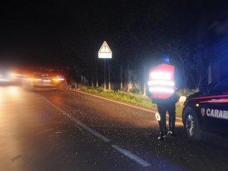 Fuga e inseguimento nella notte denunciato ladro campano in trasferta