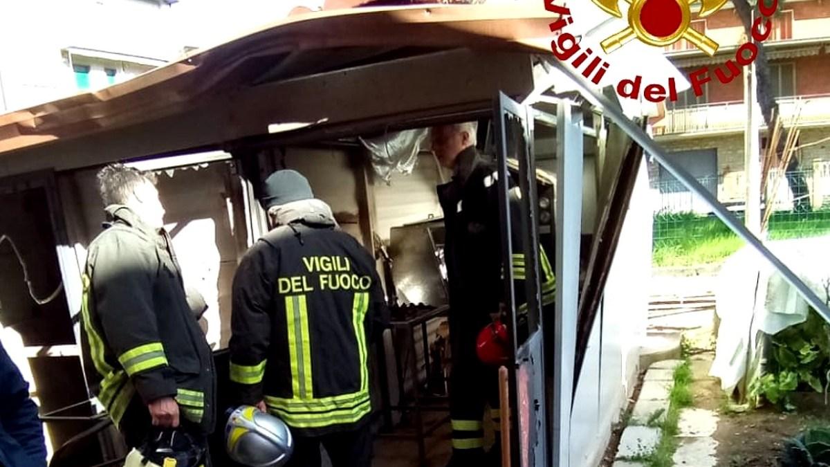 Esplode bombola di gas a Ponte Valleceppi di Perugia, nessun ferito