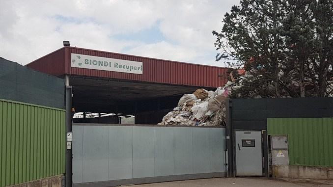 Incendio Biondi Recuperi, Cgil chiede chiarezza per residenti e lavoratori