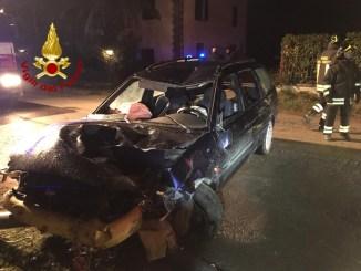Auto si ribalta tra Panicale e Macchie, ferito il conducente