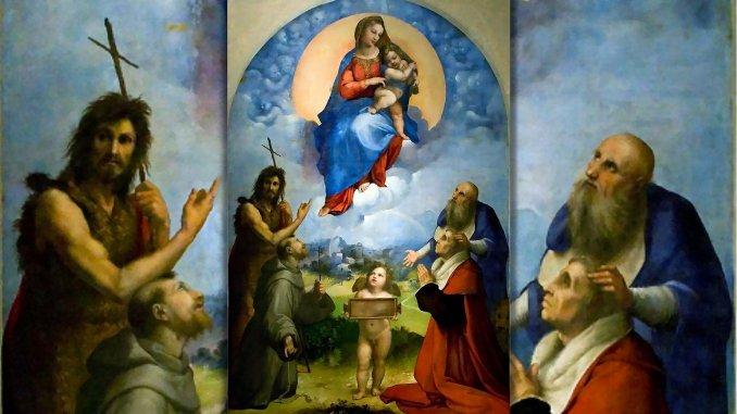 """L'intellettuale che commissionò a Raffaelloil capolavoro della """"Madonna di Foligno"""""""