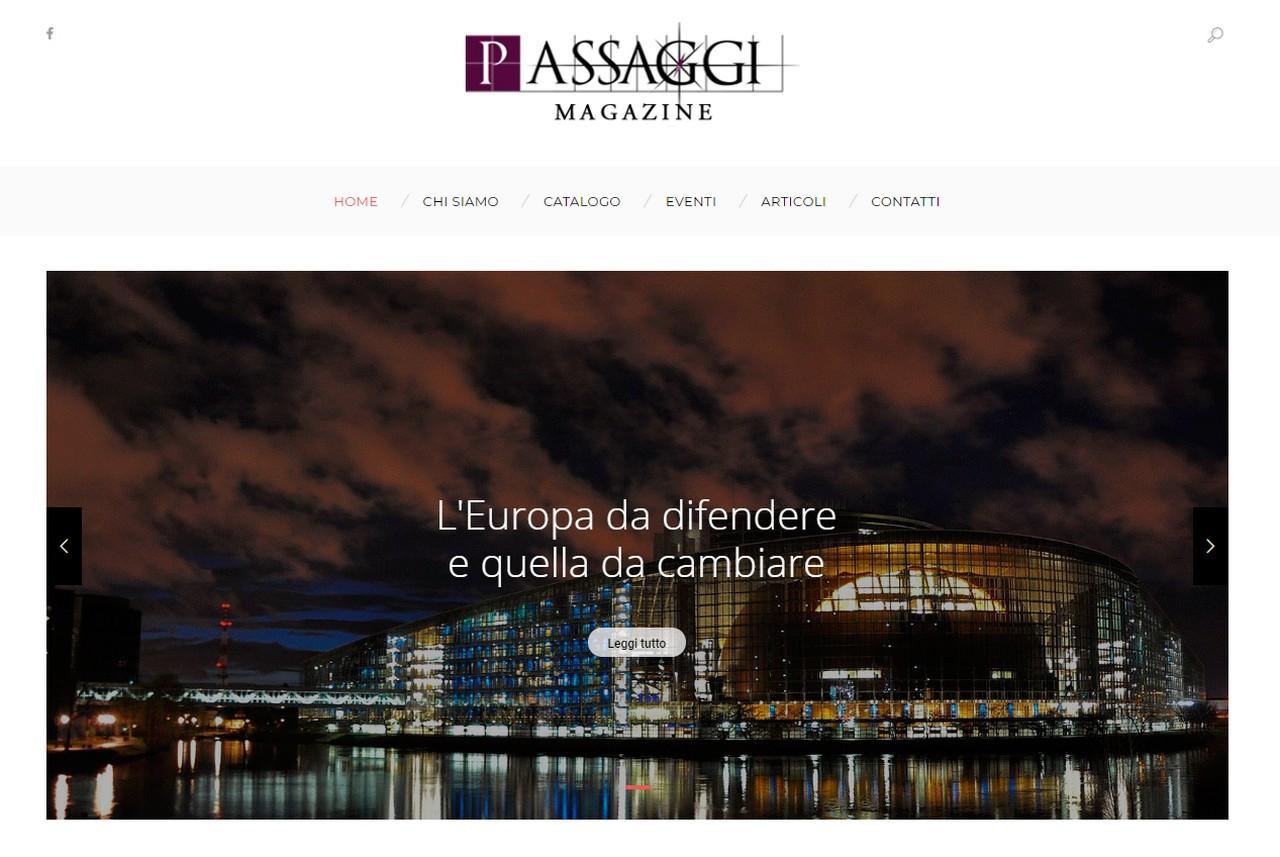 Nasce in Umbria un sito internet di cultura e di riflessione politica è Passaggi Magazine