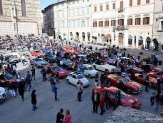 Perugia 1416, Rioni in festa tra auto e moto d'epoca