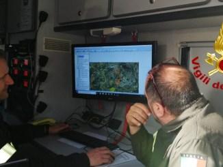 Continuano le ricerca di Emanuele Cecconi, anche con elicottero