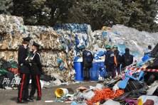 Incendio Ponte San Giovanni, gestione illecita dei rifiuti, c'è un indagato