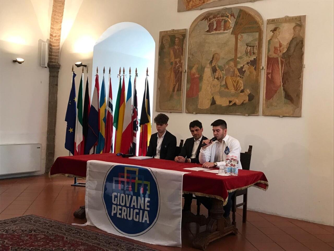Lista Giovane Perugia, al centro della lista l'amore per la città