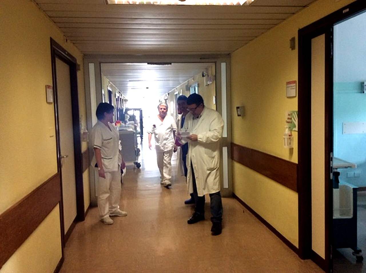 Bartolini e Ambrosio sopralluogo Ospedale, nessuna criticità emersa
