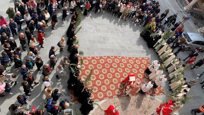 Celebrata la Domenica delle Palme dal cardinale Bassetti