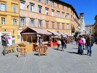Nel Cuore di Perugia per sei giorni è in scena la grande Fiera di Pasqua