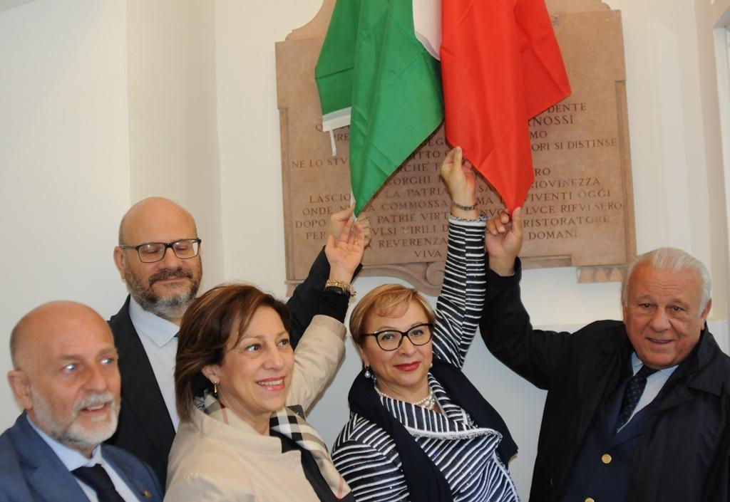 Inaugurato a Perugia il busto dedicato a Enrico Pernossi