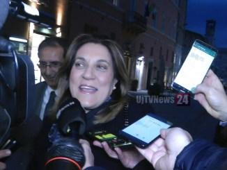 Dimissione Presidente Catiuscia Marini, da sindaco a impegno per Europa