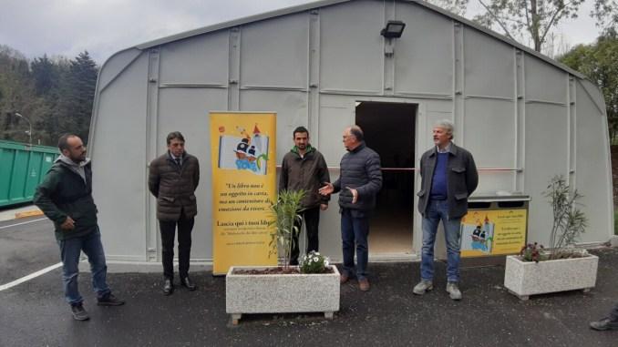 Operativo il nuovo Centro del Riuso a Cenerente-San Marco
