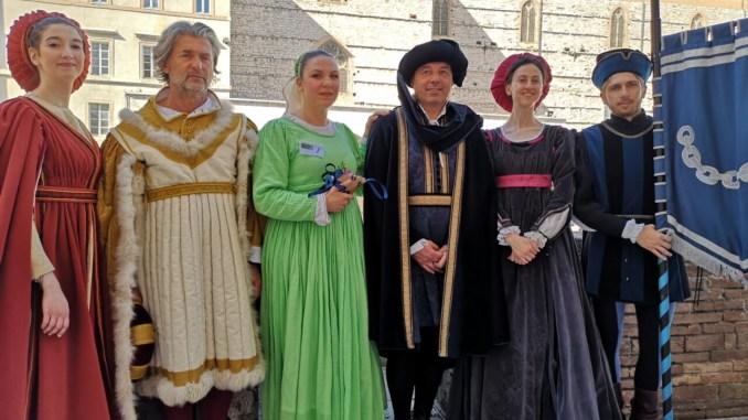 Perugia 1416, Silvia Dazzi è la prima dama del Rione Santa Susanna