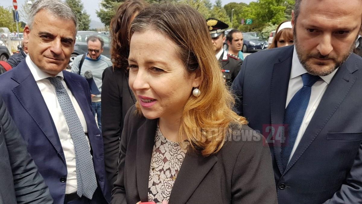 🔴VIDEO Ministro Giulia Grillo a Perugia: «Nessuna criticità ospedale Perugia»