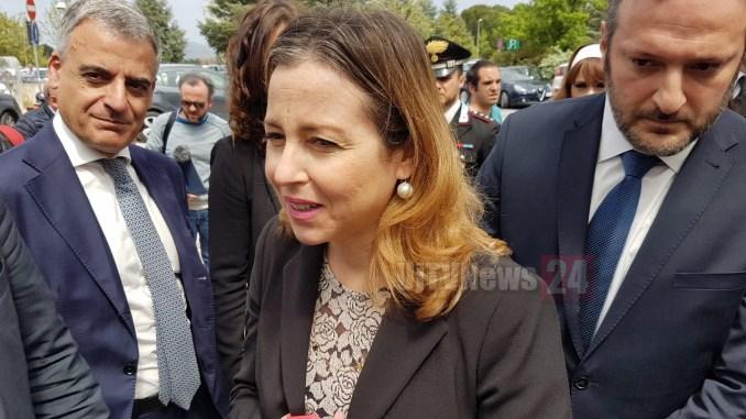 Ministro della Salute Giulia Grillo visita ospedale di Perugia