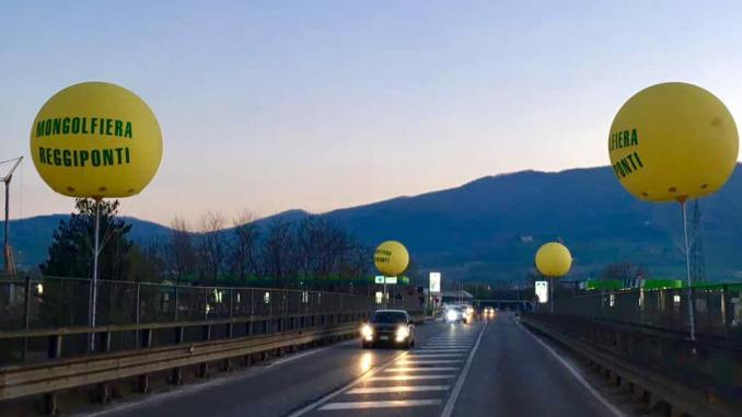 Arrivano le mongolfiere reggiponti, 4 sono comparse a San Sepolcro, ma è...