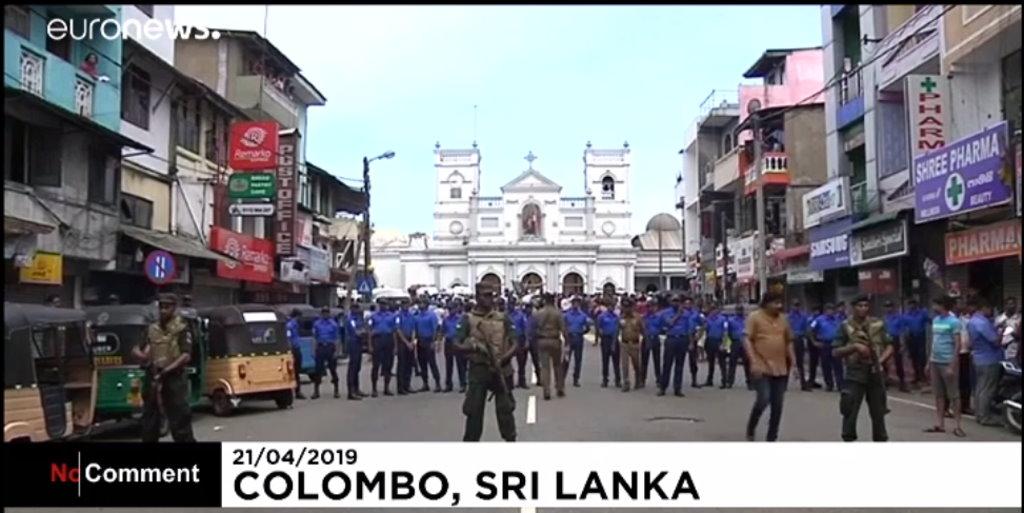 Sri Lanka, coppia umbra qualche ora prima era in quell'inferno, salvi per miracolo