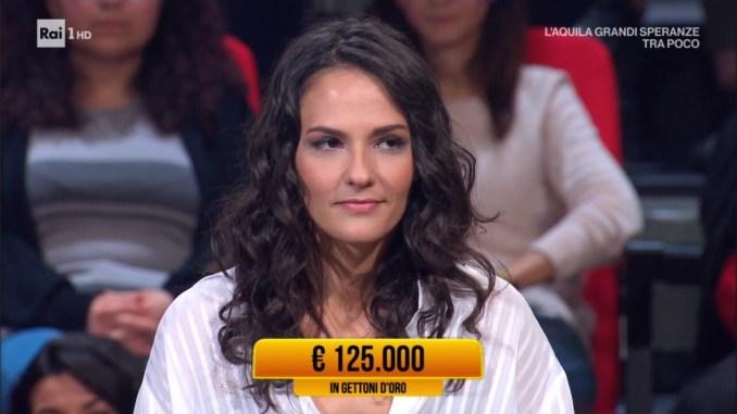 Valentina di Bastia Umbra vince ai Soliti Ignoti 125 mila euro