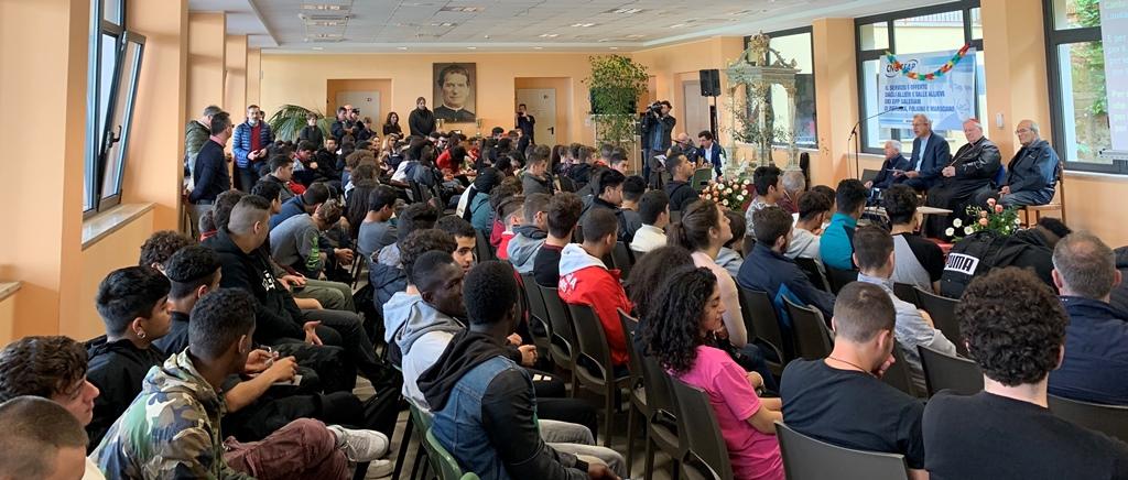 """Cardinale Bassetti ha incontrato oltre 200 giovani allievi dei Centri """"Don Bosco"""""""