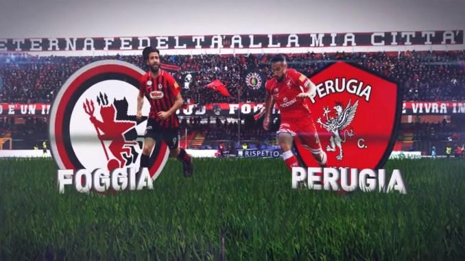 Il Perugia perde a Foggia per uno a zero, il punto di Elio Clero Bertoldi
