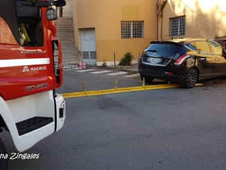 Incidente stradale vicino ex cinema Lilli auto investe pedoni due feriti