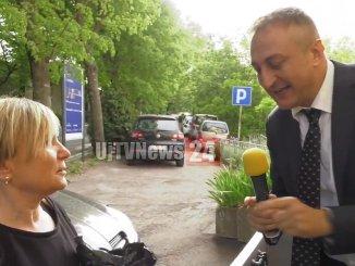Mauro Casciari testimonial Gesenu spiega ciclo raccolta differenziata dei rifiuti