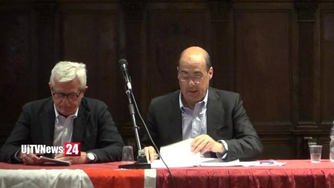 Nicola Zingaretti in Umbria, è scontro aperto con Catiuscia Marini