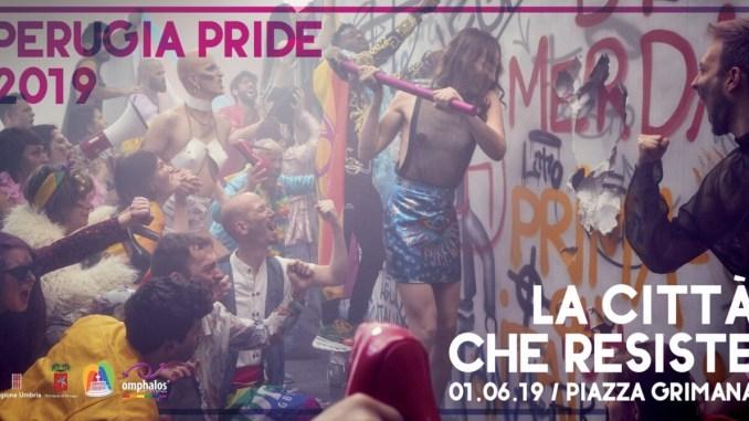 1 giugno il grande corteo del Perugia Pride, attraverserà le vie della città
