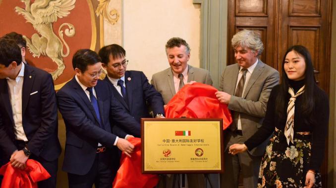Uno scambio di culture, la scuola Giodano Bruno si apre alla Cina
