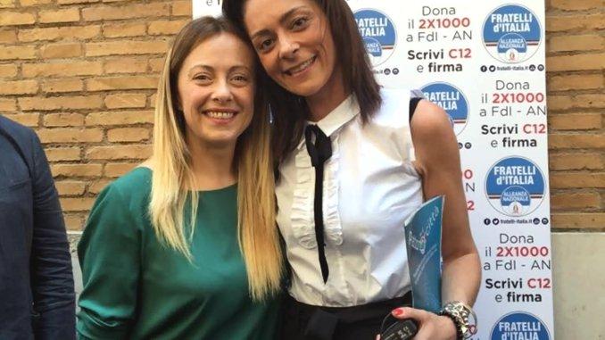 Il consigliere regionale Eleonora Pace capogruppo di Fratelli d'Italia