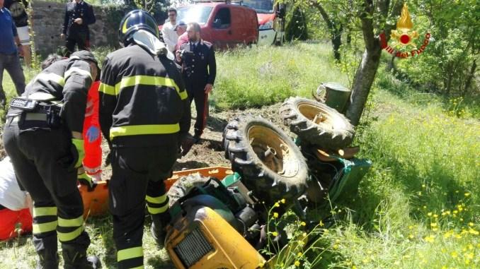 Morto l'agricoltore travolto da un trattore a Tavernelle