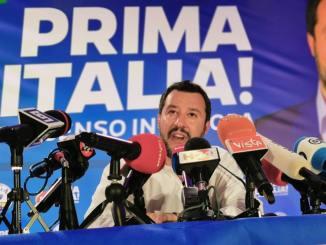 Salvini ancora in Umbria, Cgil, sarebbe meglio andare dai terremotati