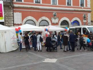 Terni, grande affluenza in piazza della Repubblica per l'Oral Cancer Day 2019