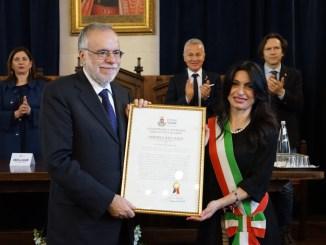 Assisi ha un nuovo cittadino onorario per la pace è Andrea Riccardi