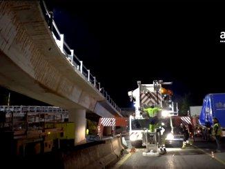 Terremoto, al via la fase di montaggio dei viadotti risanati sulla Salaria ad Arquata