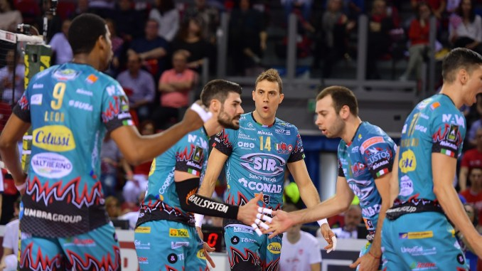 Volley, Sir Safety Conad Perugia, prossima, ed ultima, fermata… gara 5