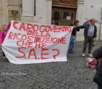 28 maggio, Cgil Perugia a Roma per portare la voce delle popolazioni terremotate