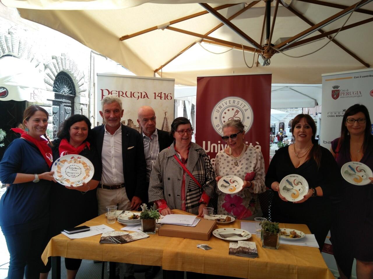 Perugia 1416, al via la gara gastronomica per la torta di Braccio