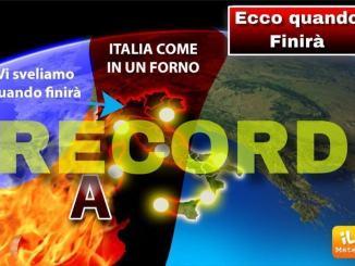 Ondate di calore, Umbria regione bollente, da mercoledì un po' di freschetto