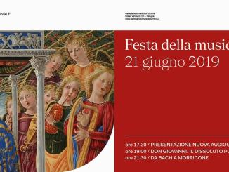 Festa della Musica 21 giugno Galleria Nazionale dell'Umbria a Perugia