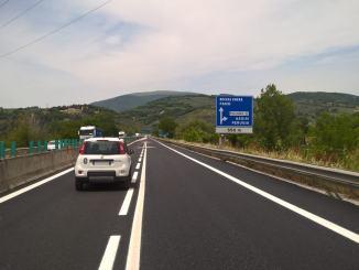 """Umbria, Anas, completati i lavori sulla statale 3 """"Flaminia"""" a Foligno nord"""