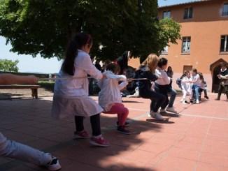 Braccio Fortebracci, Porta Santa Susanna in visita alla scuola Primaria Fabretti